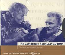 The Cambridge King Lear CD-ROM: Text and Performance Archive