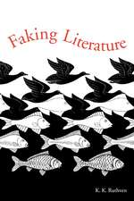 Faking Literature