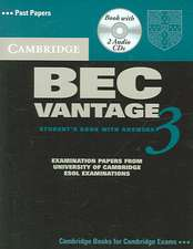Cambridge BEC Vantage 3 [With 2 CDs]:  English for Speakers of Other Languages