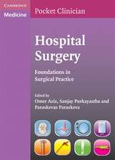 Hospital Surgery: Foundations in Surgical Practice