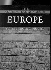 The Ancient Languages of Europe