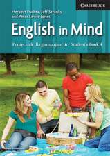 English in Mind Level 4 Student's Book Polish Edition