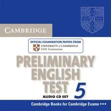 Cambridge Preliminary English Test 5 Audio CD Set (2 CDs)