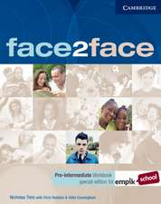 face2face Pre-intermediate Workbook with Key EMPIK Polish edition