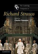 The Cambridge Companion to Richard Strauss