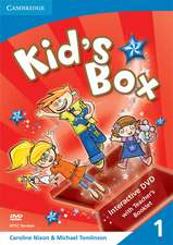 Kid's Box Level 1 Interactive DVD (NTSC) with Teacher's Booklet