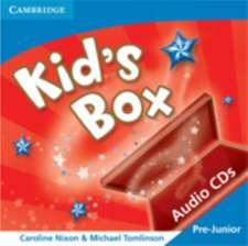 Kid's Box Pre-Junior Audio CDs (3) Greek Edition