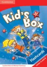 Kid's Box Junior A and Junior B Flashcards Greek Edition