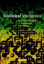 Statistical Mechanics: From First Principles to Macroscopic Phenomena