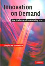Innovation on Demand: New Product Development Using TRIZ