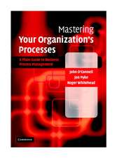Mastering Your Organization's Processes: A Plain Guide to BPM