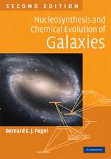 Nucleosynthesis and Chemical Evolution of Galaxies