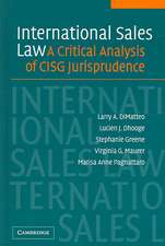 International Sales Law: A Critical Analysis of CISG Jurisprudence