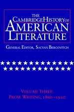Cambridge History of American Literature 8 Volume Hardback Set