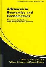 Advances in Economics and Econometrics 3 Volume Hardback Set: Theory and Applications, Ninth World Congress