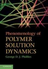 Phenomenology of Polymer Solution Dynamics