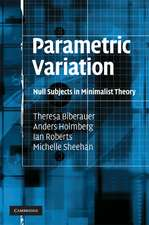 Parametric Variation: Null Subjects in Minimalist Theory