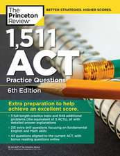 1,471 ACT Practice Questions