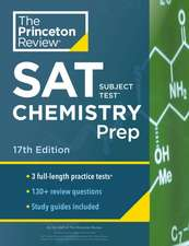 Cracking the SAT Subject Test in Chemistry, 17th Edition
