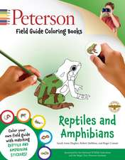 Peterson Field Guide Coloring Books: Reptiles and Amphibians