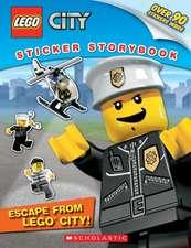 Lego City:  Sticker Storybook