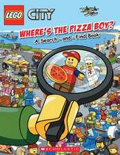 Lego City:  Where's the Pizza Boy?
