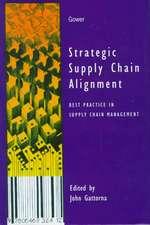Strategic Supply Chain Alignment