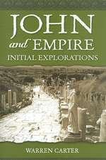 John and Empire: Initial Explorations
