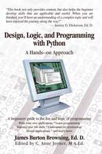 Design, Logic, and Programming with Python