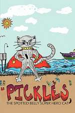 Pickles, the Spotted Belly Super Hero Cat