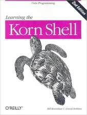 Learning the Korn Shell 2e