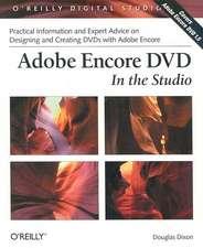 Adobe Encore DVD – In the Studio
