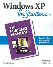 Windows XP for Starters:  Exactly What You Need to Get Started