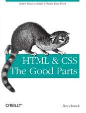HTML & CSS – The Good Parts