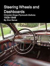 Steering Wheels and Dashboards 1939-1949 Chrysler Corporation