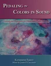 Pedaling Colors in Sound