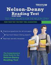 Nelson Denny Reading Test Study Guide