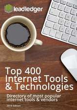Leadledger's Top 400 Internet Tools & Technologies