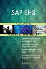 SAP EHS A Complete Guide