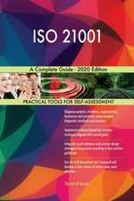 ISO 21001 A Complete Guide - 2020 Edition