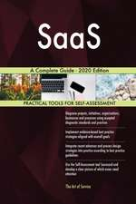 SaaS A Complete Guide - 2020 Edition