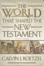 The World That Shaped the New Testament:  Witnesses to God's New Work