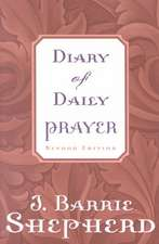 Diary of Daily Prayer, Second Edition:  Discipleship for College Students