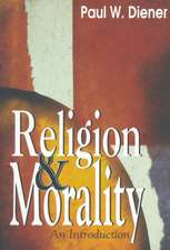 Religion Morality:  An Introduction