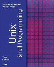 Unix Shell Programming:  Developer's Cookbook