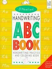 D'Nealian Handwriting Manuscript ABC Book