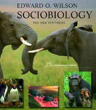 Sociobiology – The New Synthesis 25th Anniversary Edition (Paper)2e