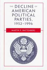 The Decline of American Political Parties 1952–1996 5e