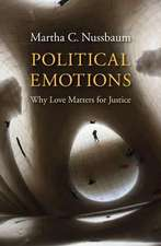 Political Emotions – Why Love Matters for Justice