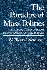 The Paradox of Mass Politics – Knowledge & Opinion in the American Electorate (Paper)